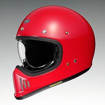 Shoei Ex-Zero Motorcykel Hjälm Röd