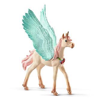 Bayala Verzierte Einhorn Pegasus Fohlen Spielzeug Figur