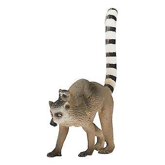 Wildlife & Woodland Lemur with Baby Toy Figure