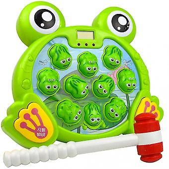 Groda förälder-barn leksak pussel spelmaskin för barn