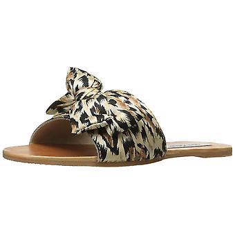 Steve Madden kvinners Alex Fabric rundt Toe Casual lysbildet sandaler