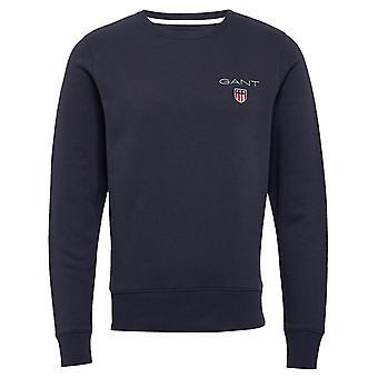 Gant Medium Shield Crew Sweatshirt