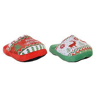 Foot warmer DKD Home Decor Christmas (2 pcs)