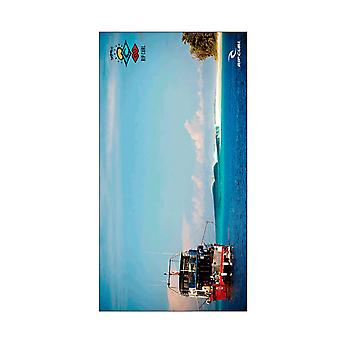 Rip Curl Search Line Up Beach Towel in Blue