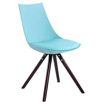 Chaise de salle à manger - Chaises de salle à manger - Chaise de cuisine - Chaise de salle à manger - Moderne - Bleu - Bois - 47 cm x 53 cm x 81 cm