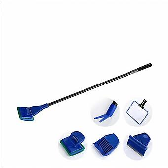 Aquarium Fish Tank Cleaning Kit, Bathtub Cleaning Is Sturdy And Durable (5 Piece Set)