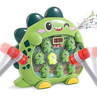Lyö myyräpeli taapero lelu 2 vasaraa, dinosaurus vasarointi jyskytys leluja ikä 3 4 5 6 7-vuotiaat lapset