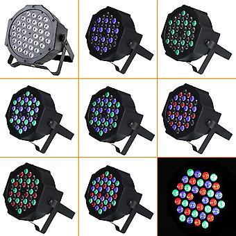 36*1w Led Plastic Stage Light Four Control Models For Party Night Club Bar Ktv