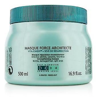 Kerastase Resistance Force Architecte Reconstructing Masque (for Brittle Very Damaged Hair Split Ends) - 500ml/16.9oz