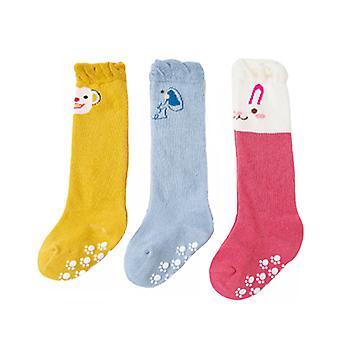 3 Paar Baby Strümpfe Rutschfest Baby Kleinkind Socken Baby Boden Socken