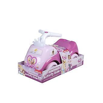 Rose Ride-sur l'activité princesse Light & Sound enfants fabriqués à partir de plastique
