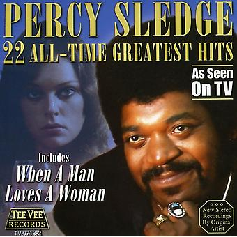 Percy Sledge - 22 All Time Greatest Hits [CD] USA import