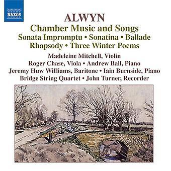 W. Alwyn - William Alwyn: Chamber Music and Songs [CD] USA import