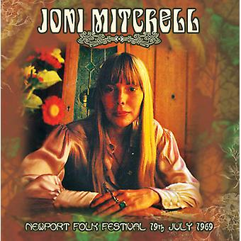 Joni Mitchell - Newport Folk Festival 19th July 1969 [CD] USA import