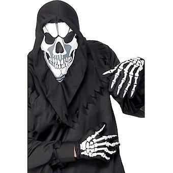 Skelettkostüm Skelett Knochen Kostüm Halloween