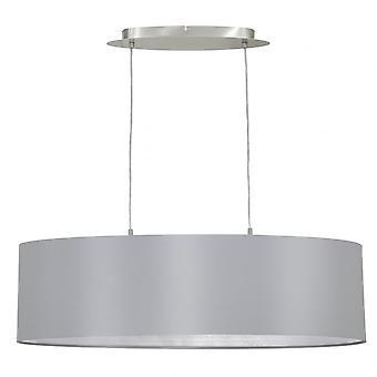 Pendentif de plafond de tambour de lustre d'Eglo Maserlo