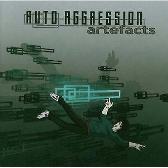Auto Aggression - Artefacts [CD] USA import