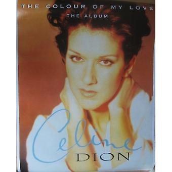 Celine Dion The Colour of My Love Poster