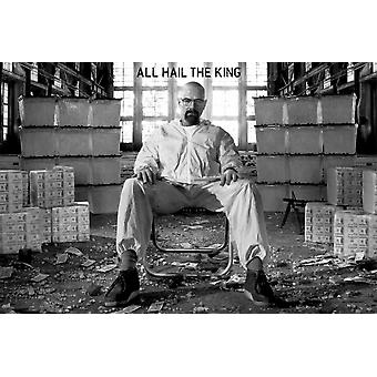Breaking Bad All Hail The King Poster Poster Print