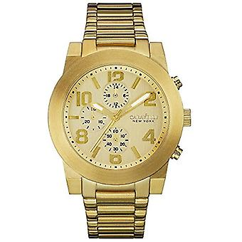 Caravelle New York Chronograph Gold-Tone Stainless Steel Men's watch #44A105