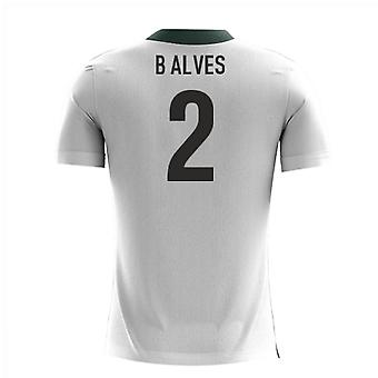 2020-2021 Portugal Airo Concept Away Shirt (B Alves 2) - Barn
