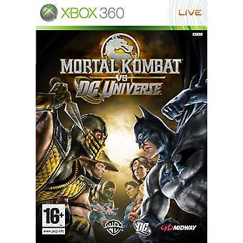 Mortal Kombat vs DC Universe (Xbox 360) - Nouveau