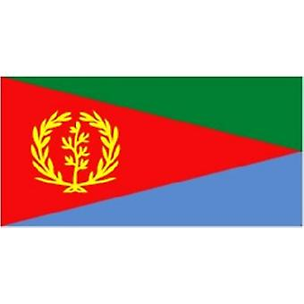 Eritrea Flag 5ft x 3ft With Eyelets For Hanging