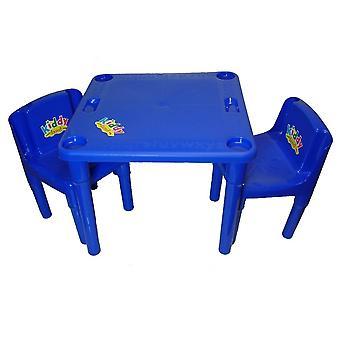 Kiddy activiteiten tafel en stoelen