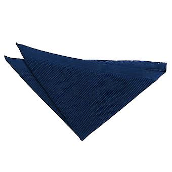Plaza de bolsillo de punto azul marino