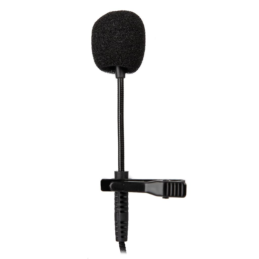 REYTID Pro Clip on 3.5mm Lavalier Microphone Compatible with iPhone Android Canon Nikon Digital Cameras GoPro - Condenser Omnidirectional Smartphones