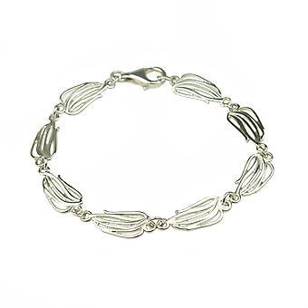 Стерлингового серебра браслет традиционные современные современный дизайн Твигги