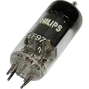 EF 97 Vacuum tube Pentode 25 V 2.7 mA Number of pins: 7 Base: Miniature Content 1 pc(s)