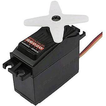 Spektrum Standard servo S6020 Digital servo Gear box material Metal Connector system JR