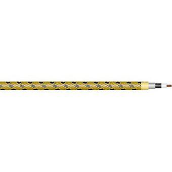 Sommer Cable 300-0107 Instrument lead 1 x 0.50 mm² Black, Yellow Sold per metre