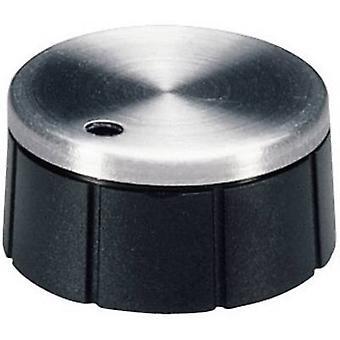 OKW A1624260 kontrollreglaget Aluminium, svart (Ø x H) 24 x 12,4 mm 1 dator
