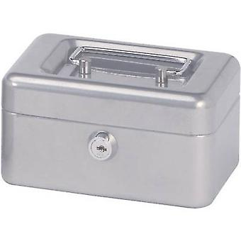 Maul 18280 cash box (b x H x D) 152 x 81 x 125 mm zilver