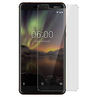 Tempered glass screen protector for Nokia 6.1, 9H hardness, anti-explosion