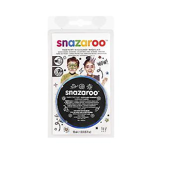 Snazaroo Face Paint 18ml-Black