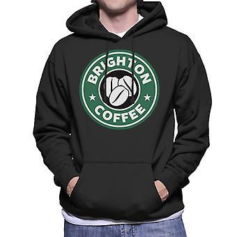 Brighton Coffee Men's Hooded Sweatshirt
