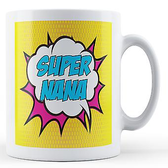 Super Nana Pop Art Mug - Printed Mug