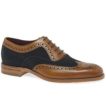 Loake Thompson Mens Formal encaje Brogues