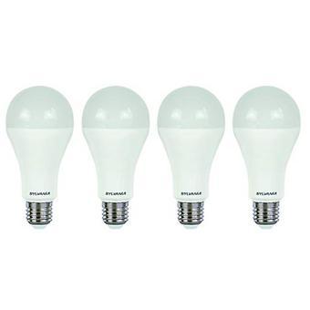 4 x Sylvania ToLEDo A60 E27 V4 13W Homelight LED 1421lm [classe énergétique A +]