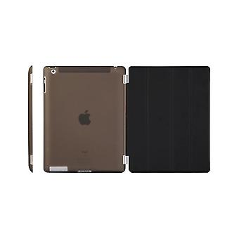 Custodia/Copertina iPad (2017)/iPad Air - guscio duro plastica nera