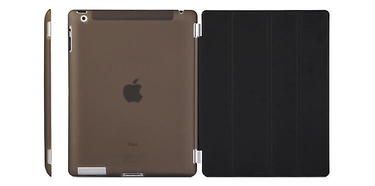 Fodral/Cover iPad (2017) / iPad Air + Skal hårdplast Svart