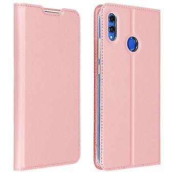 Slim Flip Brieftasche, Dux Ducis Serie Fall für Ehre 8 X / View 10 Lite - Pink
