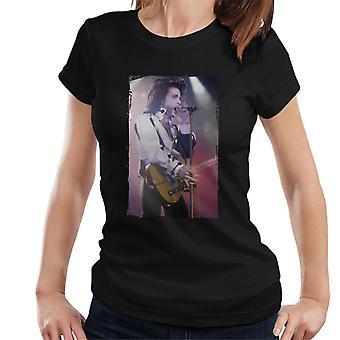 Prins naakt Tour 1991 uitvoeren met gitaar Women's T-Shirt