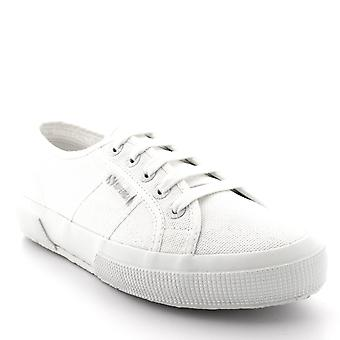 Womens Superga 2750 Cotu Classic White Low Top Summer Canvas Trainers