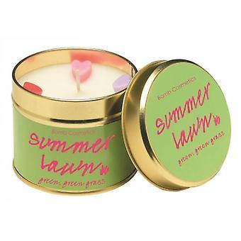Bomb Cosmetics Tin Candle Summer Lawn
