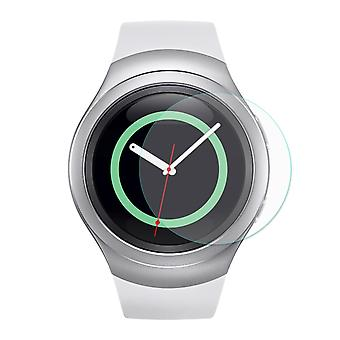 2 pcs HAT PRINCE Samsung Gear S2 Tempered Glass 0.2 mm