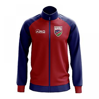Namibian käsite jalkapallo Track Jacket (punainen)